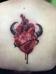 Heart is a devil Tattoo