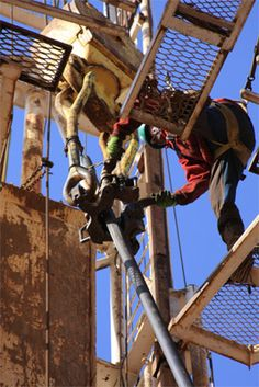 Oil Rig Photos and Photos of Drilling Rig Workers or Roughnecks