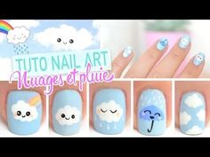 Résultat de recherche d'images pour nail art cute kawaii - airarle Cute Nail Art Designs, Nail Art Cute, Easy Nail Art, Cute Nails, Pretty Nails, Diy Nails, Swag Nails, Manicure, Nail Nail