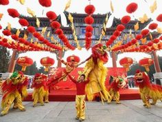 Fortune seems to have favoured Macau over Hong Kong during last week's Spring Festival. But both territories suffered from the ongoing change in Mainland Chinese Lantern Festival, Chinese Festival, Happy Chinese New Year, Family Day Care, New Years Traditions, Chinese Calendar, Dragon Dance, Lion Dance, Red Envelope