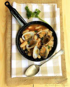 La Cucharina Mágica: Fabes con almejas o almejes