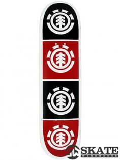 Element Quadrant White Deck x White Deck, Tree Logos, Skateboard Decks, Colorful Backgrounds, Cool Stuff, Red, Base, Products, Skateboards