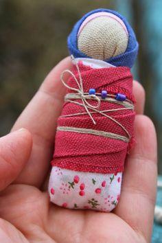 Игровая куколка-пеленашка Деточка :)