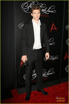 Keegan Allen at the 'Pretty Little Liars' 100th Episode Celebration!