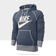 Nike Store. Nike Vintage Marled Logo Men's Hoodie