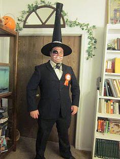 My brother's Halloween costume- Mayor of Halloween Town (Nightmare Before Christmas)