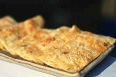 Crisp Flatbread with Honey, Thyme and Sea Salt