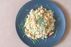 Fotorecept: Šošovicový šalát s natural ryžou Thing 1, Fried Rice, Fries, Ethnic Recipes, Natural, Food, Essen, Meals, Nasi Goreng