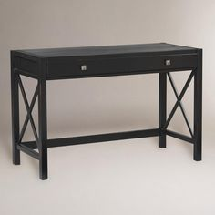 Antique Black Easton Desk | World Market