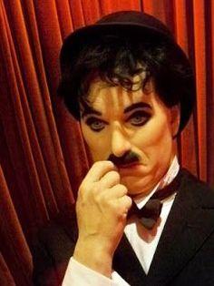 Wax Charlie Chaplin