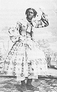 Rollin Howard (1840 - June 19, 1879) was an American minstrel performer, best known for his female blackface impersonations.