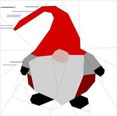 Gnomes Gnomes Gnomes !! - Quilting, Patchwork & Appliqué ©Janeen van Niekerk Connaissez-vous le blog Quilt Art Designs ? Do you know the blog Quilt Art Designs ? All about Quilting, Art and Pattern designs Je l'adore ! Janeen est bourrée de talent et d'inspiration, son blog est un vrai bonheur ! I love it!...