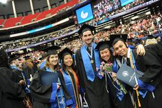 2012 GSU Spring Commencement  Students pause for a photo at the end of the Commencement ceremony.