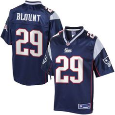 NFL Pro Line Men's New England Patriots LeGarrette Blount Team Color Jersey