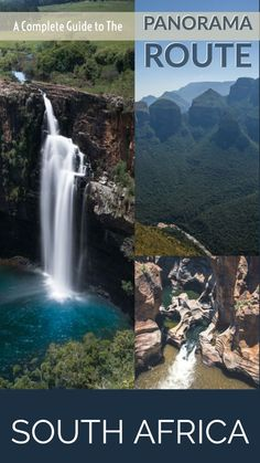 A complete guide to visiting the magnificent Panorama Route in South Africa's Mpumalanga province. One of Africa's great natural wonders and one of the world's most beautiful driving routes and a great addition to a Kruger Park itinerary. Africa Destinations, Travel Destinations, Costa Rica, Chile, South Africa Safari, South America Travel, Roadtrip, Road Trip Usa, Africa Travel