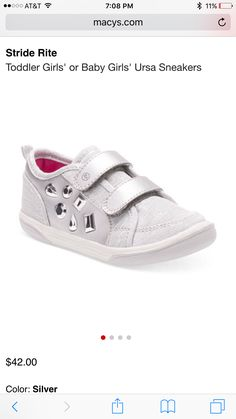 My daughter has to have these #striderite #bling #shoes #babyshoes #infant