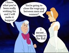 This made me both laugh and feel kind of sad all at the same time.   (From the Feminist Disney Image Collection.)