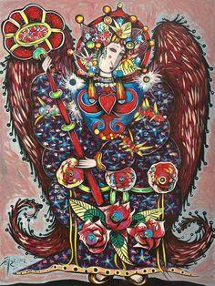 Rose Angel by Toller Cranston