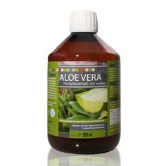 Aloe Vera % čerstvá rastlinná šťava, 500 ml Aloe Vera, E 500, Pure Leaf Tea, Juice Bottles, Cosmetics, Pure Products, Health, Food, Juice