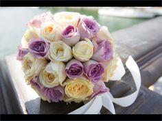 bridal bouquet - on the Seine in Paris, France