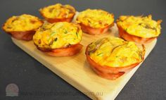 Healthy Ham Veggie Cups | Stay at Home Mum #Lunch #Vegetables