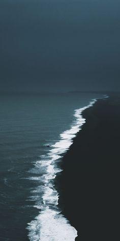Amazing coast #ocean #coast #coastal #photography #landscape #beach #travel #explore #waves #shore #mood #dark #contrast
