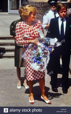 July 21 1989 Princess Diana at the Royal College of Art