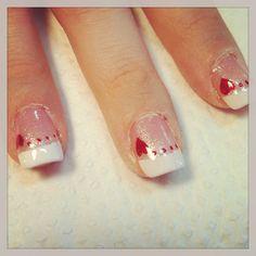 Valentine's nail art