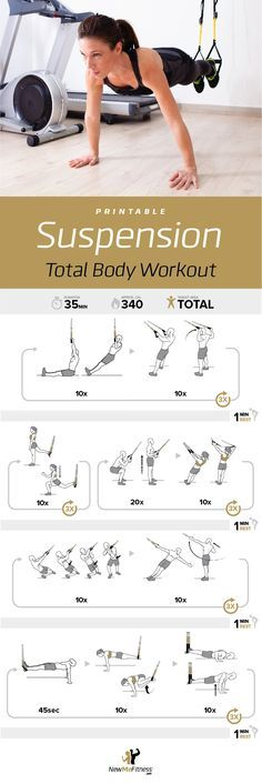 TRX Total Body Workout | Posted By: AdvancedWeightLossTips.com