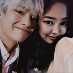 Kim Jennie, Jimin Jungkook, V Taehyung, Couple Aesthetic, Kpop Aesthetic, Bts Girl, Kpop Couples, Blackpink And Bts, Together Forever