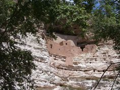 Montezuma Castle National Monument in Arizona, between Phoenix and Flagstaff