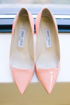 peachy pink heels