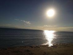 Perfect sunrise on Magnetic Island.