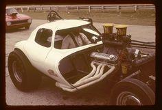 A Bill Thomas Cheetah at Green Valley Raceway, Texas on 4 April 1976.