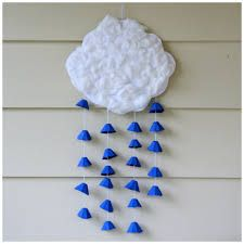 Recycling Crafts with Egg Carton 42 creative and environmentally friendly ideas, Kids Crafts, Daycare Crafts, Summer Crafts, Toddler Crafts, Crafts To Do, Arts And Crafts, Weather Crafts, Preschool Weather, Crafts From Recycled Materials