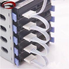 Cheap Servidor de PC $ number pines IDE Molex 1 a 5 SATA Cable de Alimentación Del Adaptador Del Divisor Cable 18AWG Blanco para HDD SSD, Compro Calidad   directamente de los surtidores de China: 100% A Estrenar y Alta Calidad!longitud: los cerca de 20 cm + 10 cm * 4se utiliza para la PC y el Servidor HDD DISCO Dur