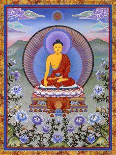 CdC Blue Lotus Buddha 8