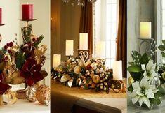 Centros de mesa navideños en bases metálicas Christmas Crafts To Make, Christmas Decorations, Table Decorations, Holiday Decor, Christmas 2019, Christmas Tree, Christmas Ornaments, Pillow Box, How To Make Wreaths