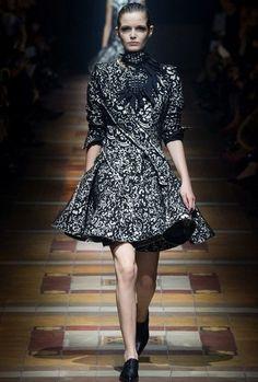 Lanvin 2014秋冬巴黎時裝週