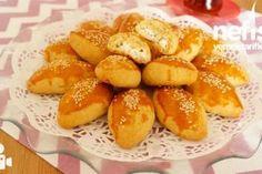 Enfes Poğaça Tarifi - Nefis Yemek Tarifleri Turkish Delight, Pretzel Bites, Tiramisu, Great Recipes, Pizza, Bread, Cookies, Dinner, Food