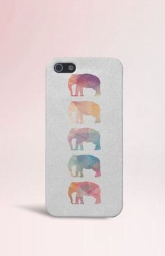 Geometric Elephants Case for iPhone 5 iPhone 5S