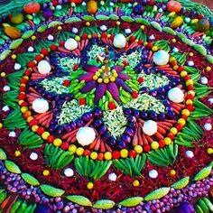 Amazing Vegetable Danmala Art