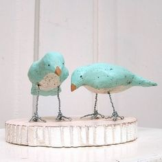 Paper mache cake toppers