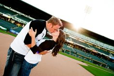 Totally doing the baseball engagement!