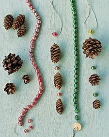 Pinecone Decorations How-To: