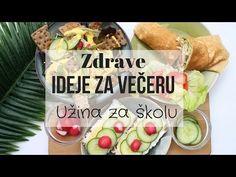 (52) Ideje za večeru I Užina za školu I Obrok na poslu - YouTube