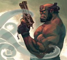 Hellboy by Gary Choo