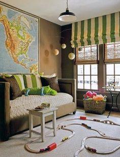Haritalarla dekorasyon