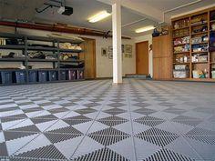 Large Garage Floor Tiles