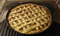 Das perfekte Rhabarber-Pie-Rezept mit Bild und einfacher Schritt-für-Schritt-Anleitung: Als erstes den Rhabarber gut waschen (nicht schälen!) und in ca…